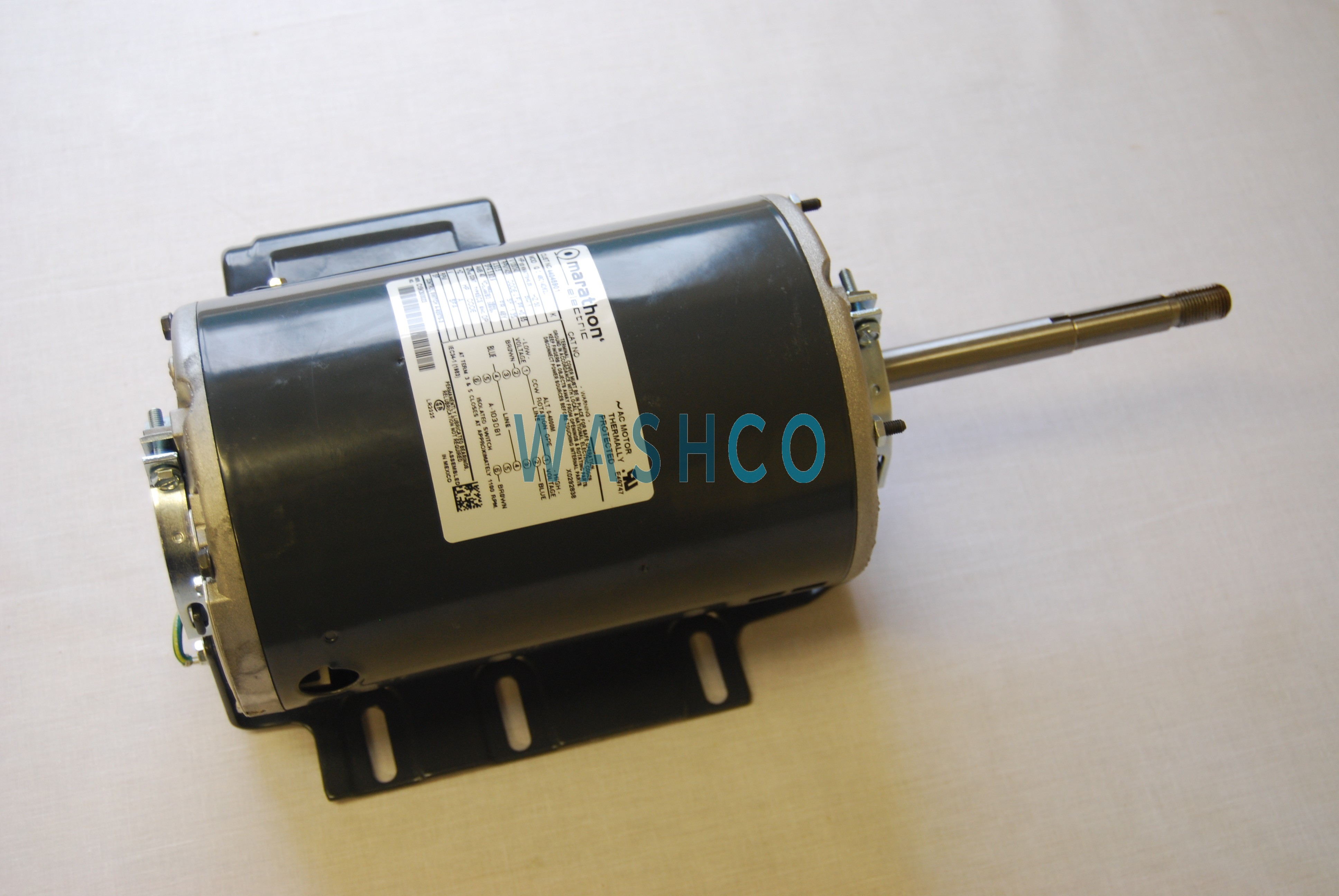 MOTOR FAN 240 50 1 1/3HP PKG REV image
