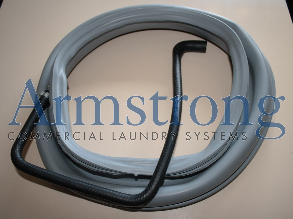 DOOR SEAL & HOSE ASSEMBLY GREY image